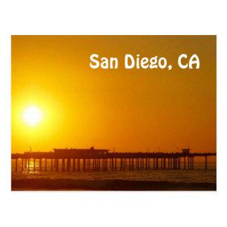 San Diego, CA-Postkarte Postkarte