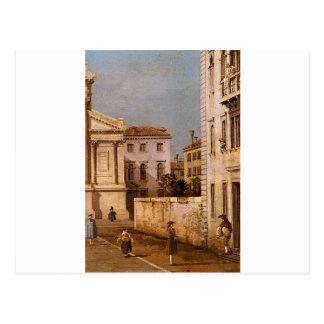 San Francesco della Vigna, Kirche und Campo Postkarte