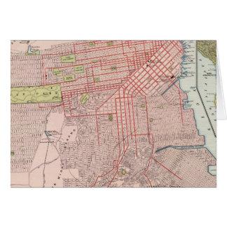 San Francisco 7 Karte