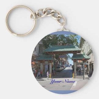 San Francisco Chinatown Tor Keychain Schlüsselanhänger