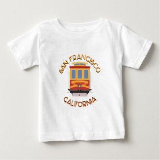 San Francisco Drahtseilbahn Baby T-shirt
