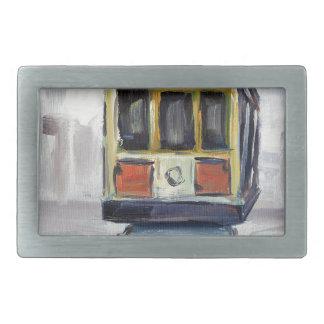 San Francisco Drahtseilbahn Rechteckige Gürtelschnalle