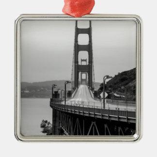 San Francisco Golden gate bridge einzigartige Silbernes Ornament