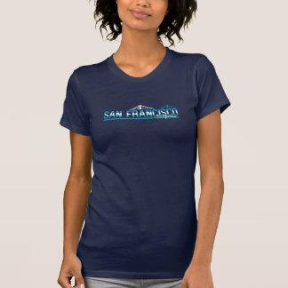 San Francisco Golden gate bridge Kalifornien T-Shirt