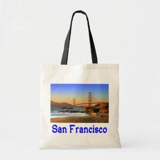 San Francisco, Kalifornien Golden Gate Brücke Budget Stoffbeutel