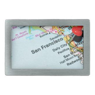 San Francisco, Kalifornien Rechteckige Gürtelschnallen