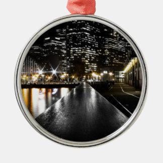 San Francisco Nacht Silbernes Ornament
