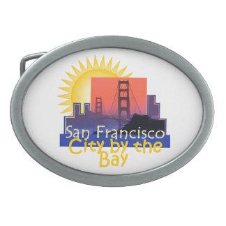 SAN FRANCISCO OVALE GÜRTELSCHNALLEN