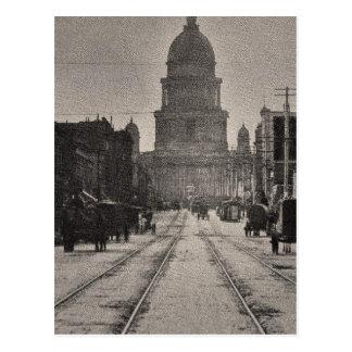 San Francisco Rathaus von 8. St. Postkarte
