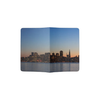 San Francisco Skyline am Sonnenuntergang Passhülle