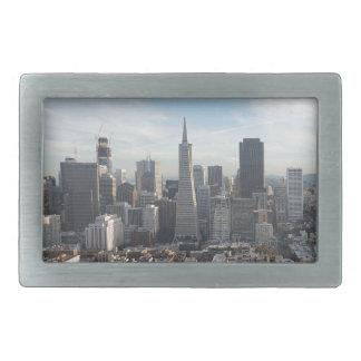 San Francisco Skyline-Panorama Rechteckige Gürtelschnallen
