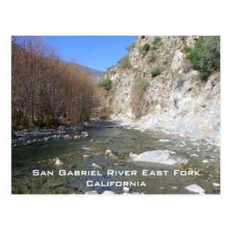 San Gabriel River Ostgabel-Postkarte! Postkarte