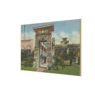 San Jose, CA - Replik des ägyptischen Schreins Gespannter Galerie Druck