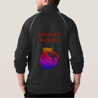 SANCHEZ-FLEECE JACKE