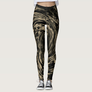 Sand-Wirbelwind Leggings