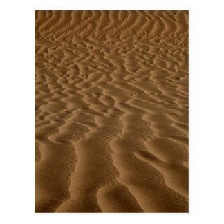 Sandkräuselungen Postkarte