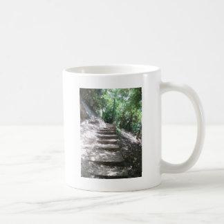Sandstein-Treppe Tasse
