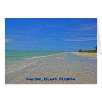 Sanibel Insel Florida - das Golf- von Karte