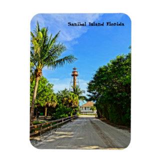 Sanibel Insel-Leuchtturm-Florida-Golf-Küste Magnet