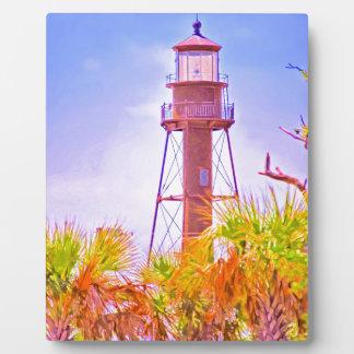 Sanibel Leuchtturmsammlung Fotoplatte