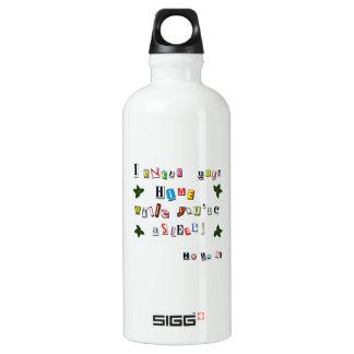 Sankt Anmerkung Wasserflasche