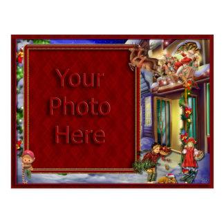 Sankt auf seinem Weisen-Bilderrahmen Postkarte