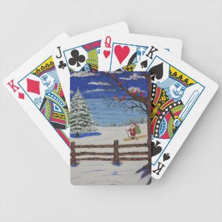 Sankt auf Skis Poker Karten