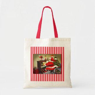 Sankt die Musiker-WeihnachtsTaschen-Tasche Tragetasche