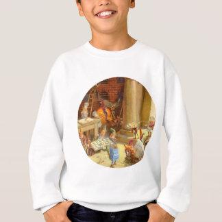 Sankt Elfe, die Weihnachtsplätzchen backen Sweatshirt