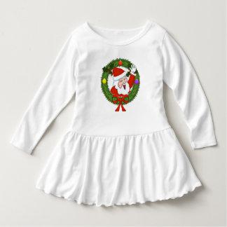 Sankt im Kranz-Kleinkind-Rüsche-Kleid Kleid