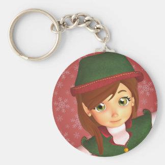 Sankt kleiner Elf Keychain Schlüsselanhänger