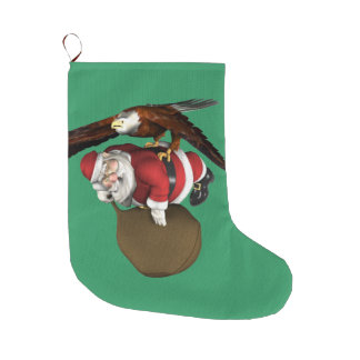 Sankt könnte später kommen ein wenig großer weihnachtsstrumpf