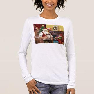 Sankt tibetanischer Spaniel (#3) Langarm T-Shirt