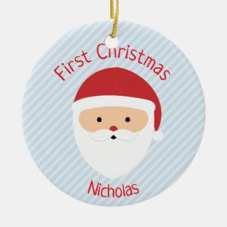 Sankt-Weihnachtsverzierung - wählen Sie Ihre Farbe Keramik Ornament