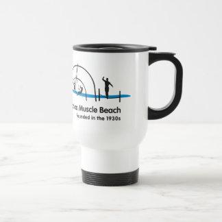 Santa Monica Strand-Kalifornien-Reise-Tasse Reisebecher