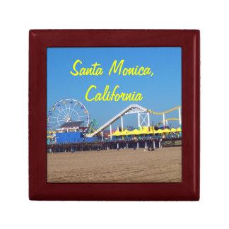 Santa Monica Strand-Pier Erinnerungskiste