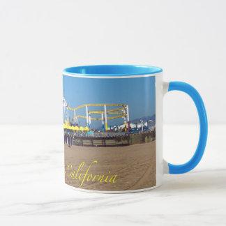 Santa Monica Strandpier Tasse