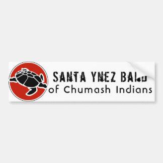 Santa- Ynezband von Chumash amerikanischem Autoaufkleber