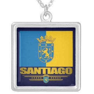 Santiago-Halskette Halskette Mit Quadratischem Anhänger