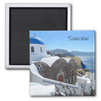 Santorini, Griechenland Quadratischer Magnet