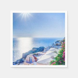 Santorini Griechenland Servietten