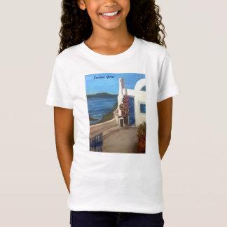 Santorini, Griechenland - T-Shirt