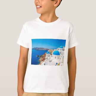 Santorini Insel - Kessel, Griechenland T-Shirt
