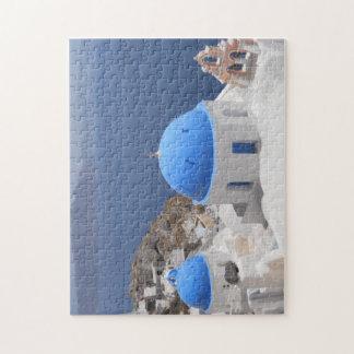 Santorini Insel Puzzle