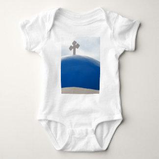 Santorini Kreuz am Nachmittag Sun Baby Strampler