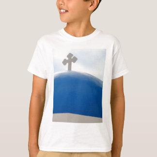 Santorini Kreuz am Nachmittag Sun T-Shirt