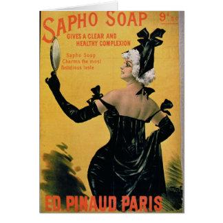 'Sapho Seife - gibt einen klaren und gesunden Karte