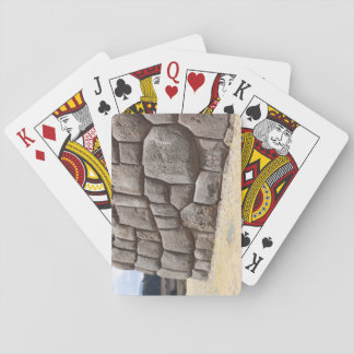 Saqsaywaman Schlangen-Piktogramm Spielkarten