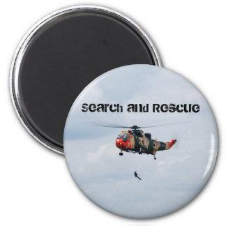 Sar-Such- und -rettungsmagnet Runder Magnet 5,7 Cm