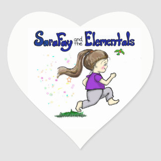 Sara-Fee und die Elementals Aufkleber für Kinder